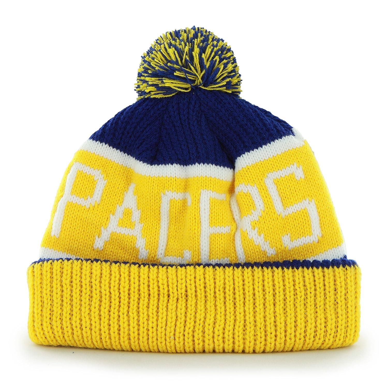 5e429400bdc ... uk amazon nba chicago bulls 47 brand calgary cuff knit hat with pom one  size black