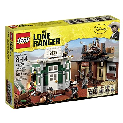 LEGO The Lone Ranger Colby City Showdown (79109): Toys & Games