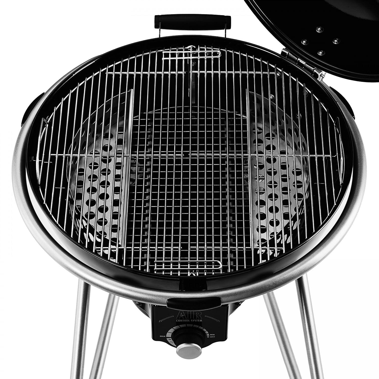 Rösle 25006 Holzkohle-Kugelgrill No. 1 AIR F60, schwarz*