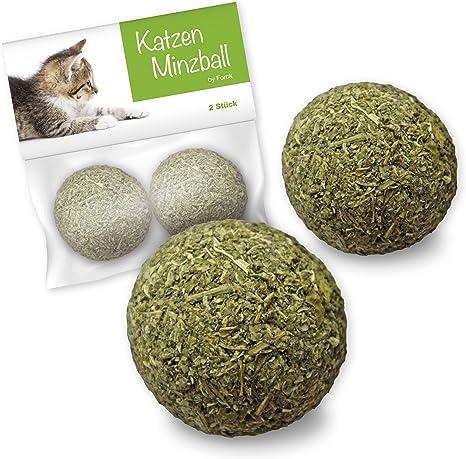 Bola de menta de juguete para gatos de Forck 2 piezas, nuestras ...