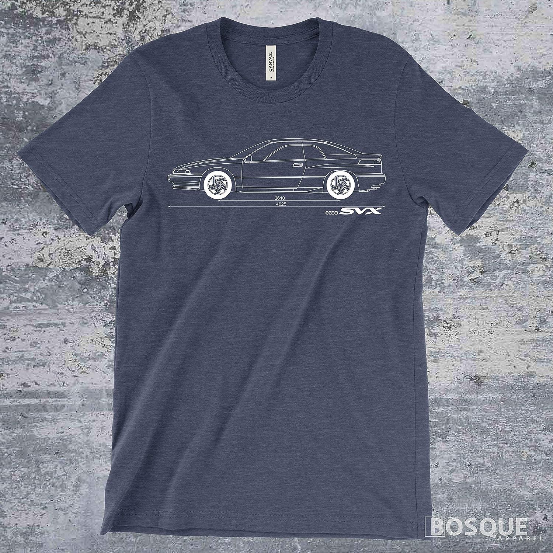 Blueprint 1991-1996 Alcyone SVX Shirt Ink Printed T-Shirt
