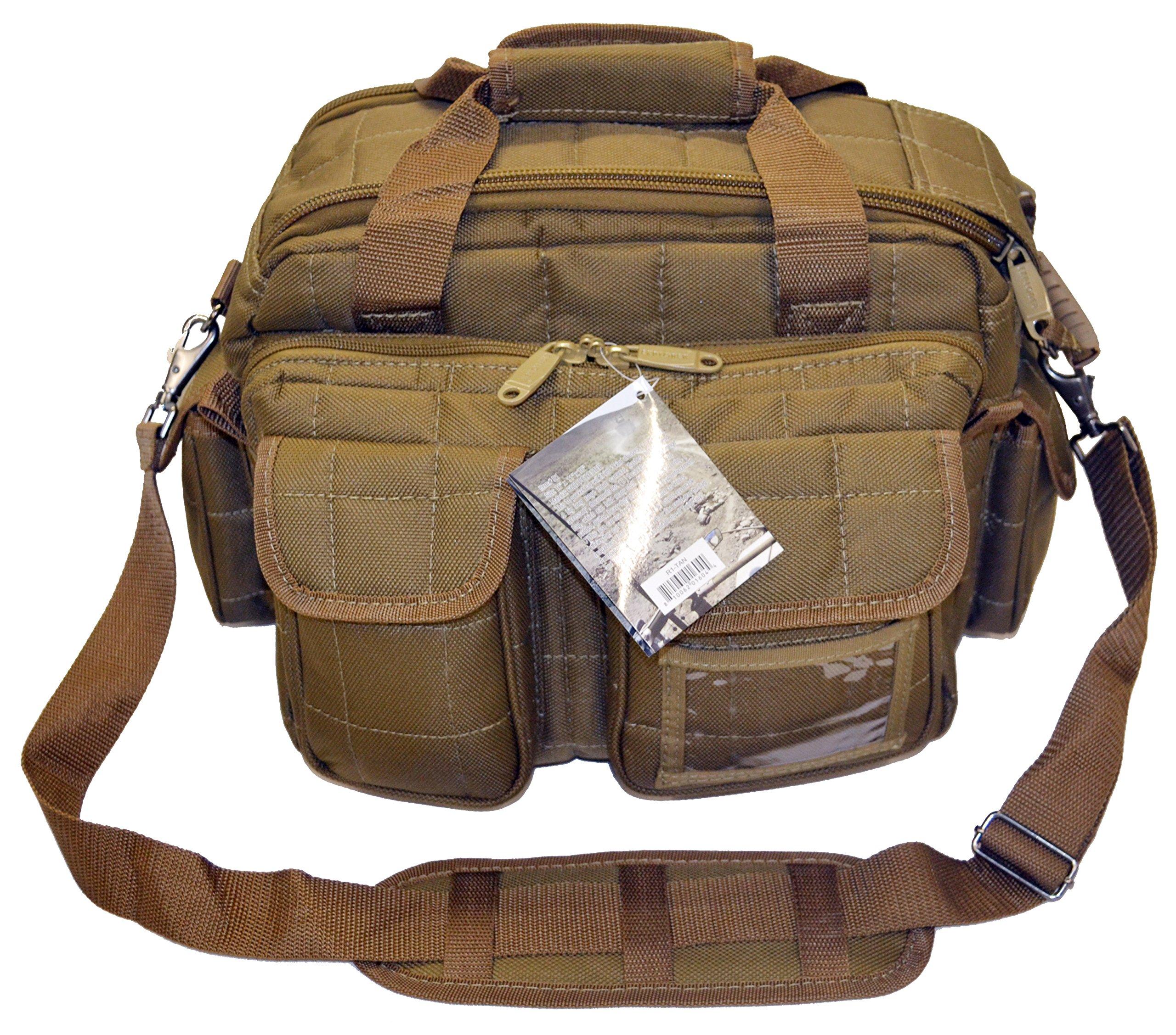 Explorer Tactical 12 Pistol Padded Gun and Gear Bag , Tan by Explorer