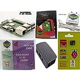 Raspberry Pi 3B+/3B Plus Motherboard Combo - Variation (PiBOX - Basic Combo Black - 3205BK)