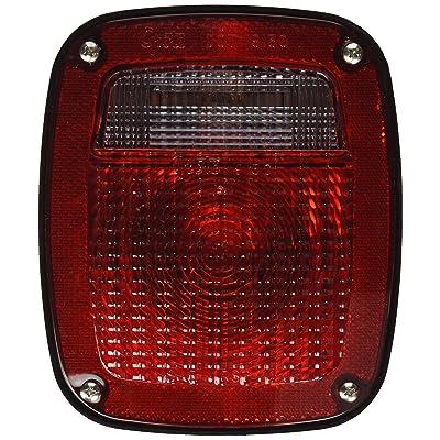 Grote 53640 SuperNova Three-Stud Metri-Pack LED Stop Tail Turn Light (LH w/ License Window): Automotive