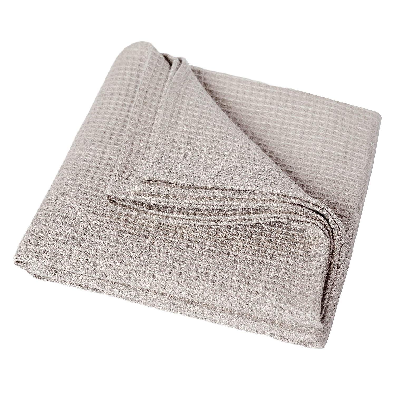 Amazon Com Organic Flax Linen Bath Towel 28 5 X 59 Beach Pool