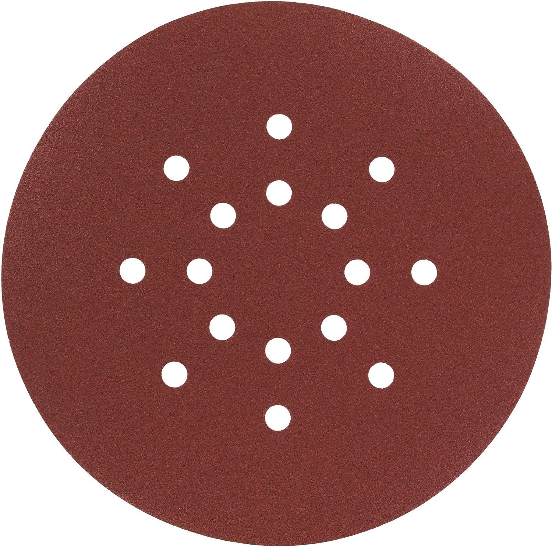 Disque auto-agrippant SCID - 16 trous - Grain 40, 80, 120 et 240 - Diamè tre 225 mm - Vendu par 10 120 et 240 - Diamètre 225 mm - Vendu par 10