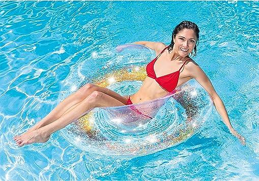 Intex 56274NP flotador para piscina y playa Transparente Monótono ...