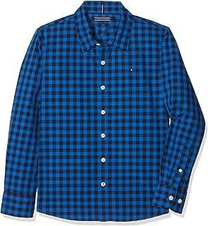 Tommy Hilfiger Jungen Hemd Multicolor CHK Shirt L S  Amazon.de ... b92813b27b