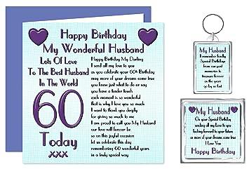 Husband 60th Happy Birthday Gift Set