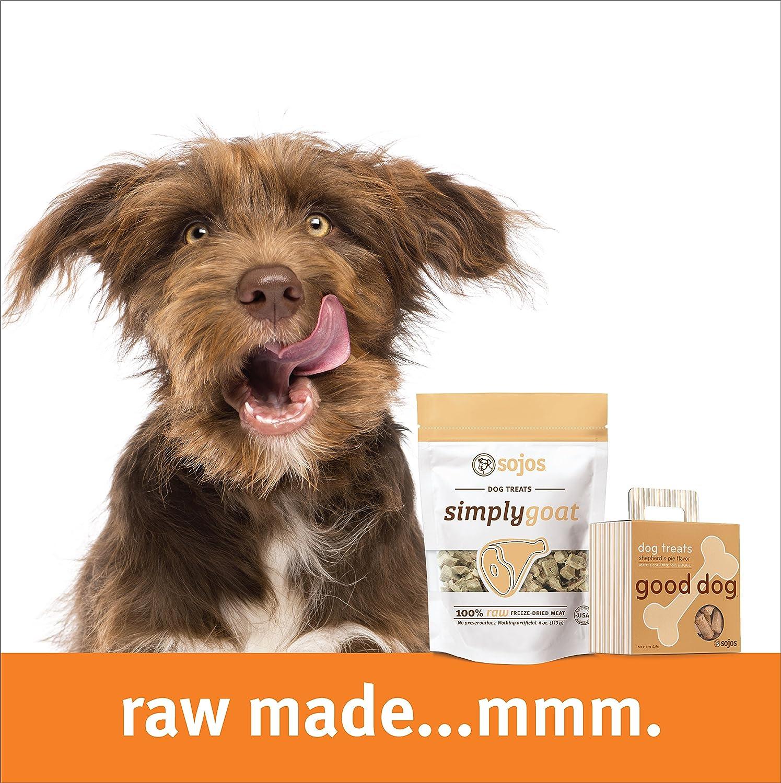 Amazon.com : Sojos Good Dog Crunchy Natural Dog Treats, Chicken Pot ...