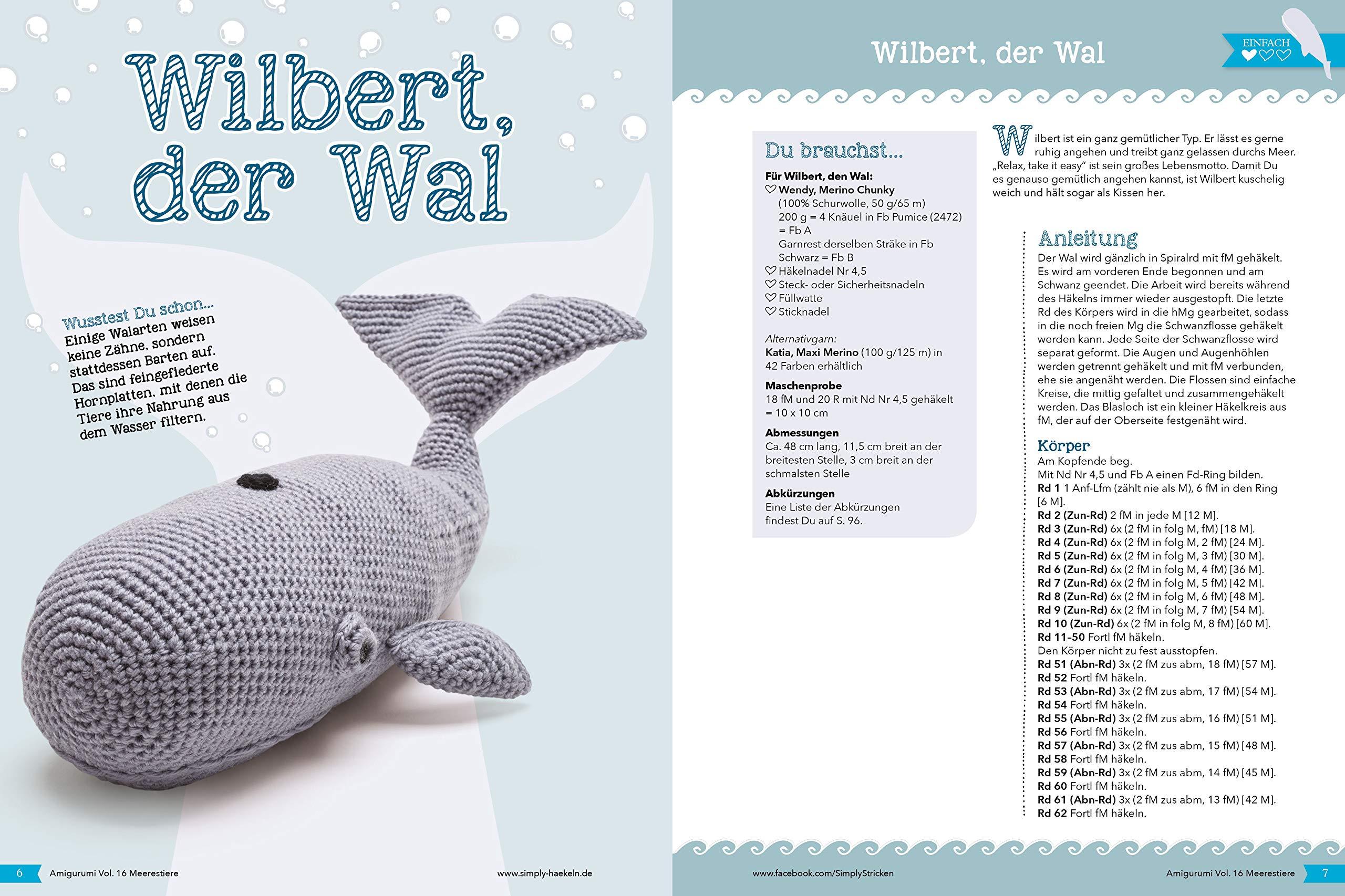 DIY-Anleitung: Amigurumi-Wal mit Rettungsring häkeln via DaWanda ... | 1706x2560