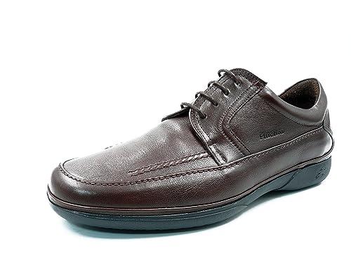 02e3c607e Zapatos hombre con cordones FLUCHOS - Piel color brandy - 7009 - 58a ...