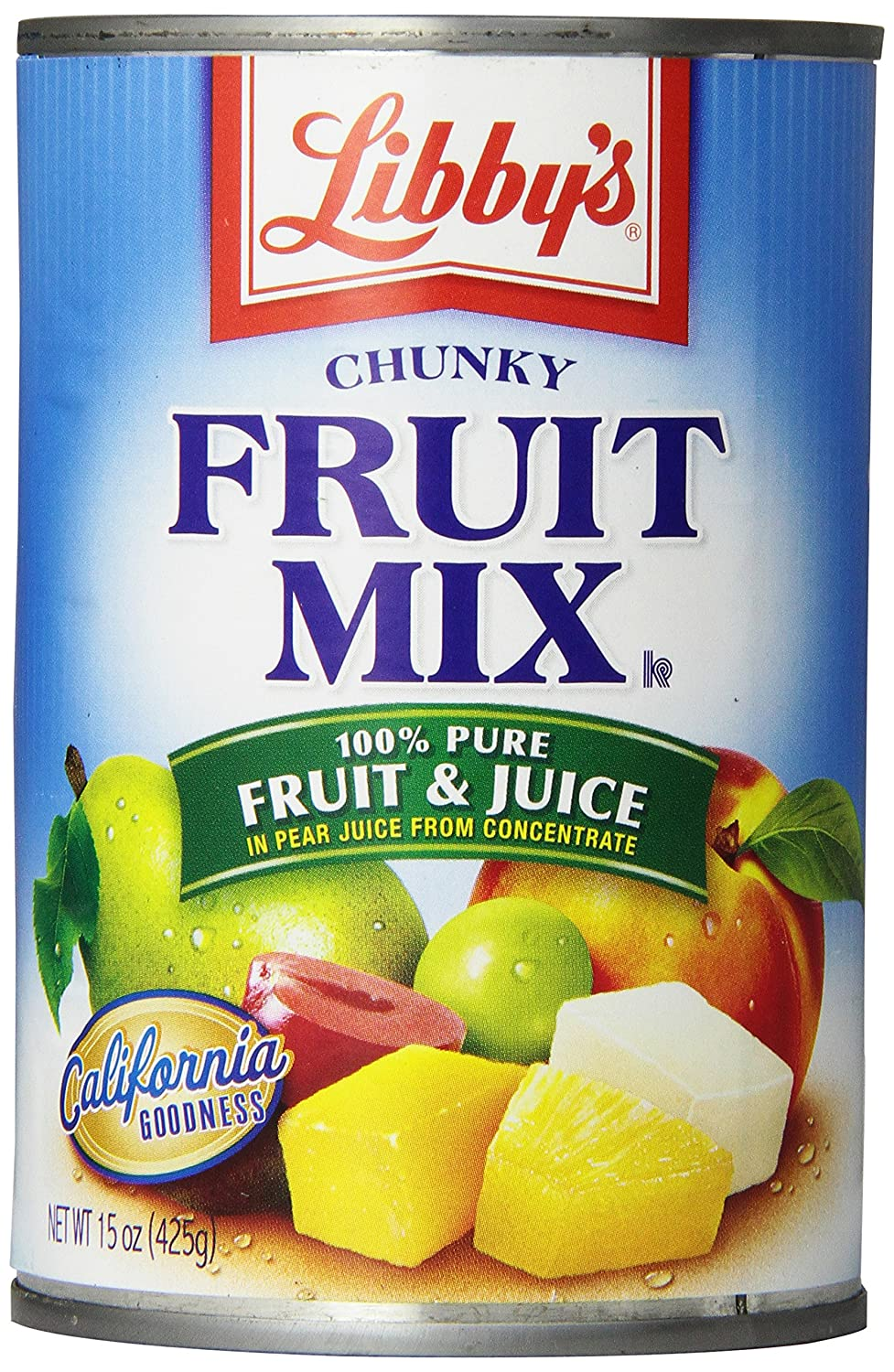 Cake Mix And Canned Fruit