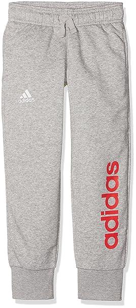 adidas Linear Pant Closed Hem, Pantaloni Bambina: Amazon.it