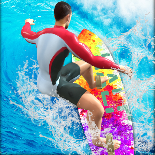 Extreme Water Surfing Stunts - Amazing Summer sports Simulator Game