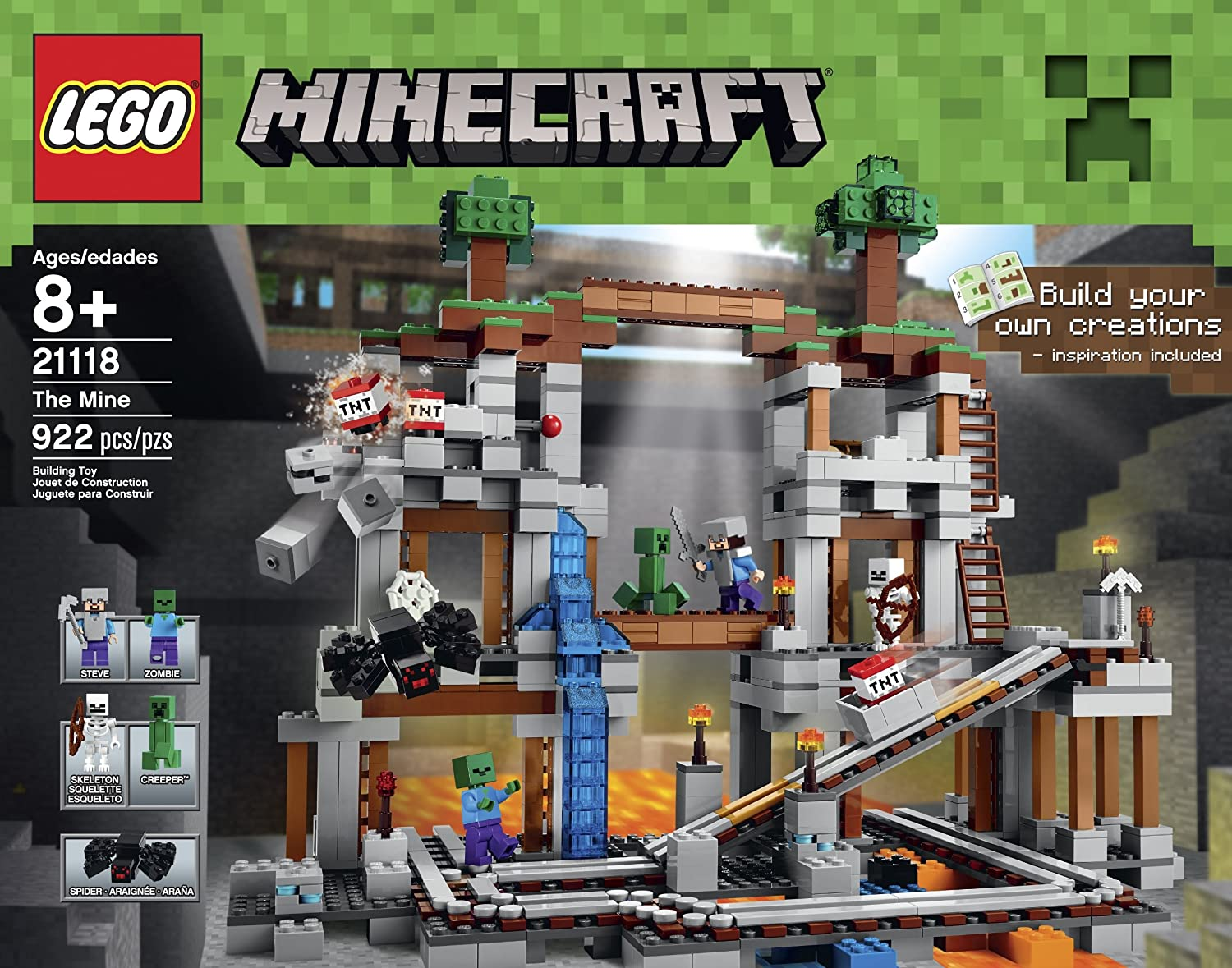 LEGO Minecraft 21118 The Mine: Amazon in: Toys & Games