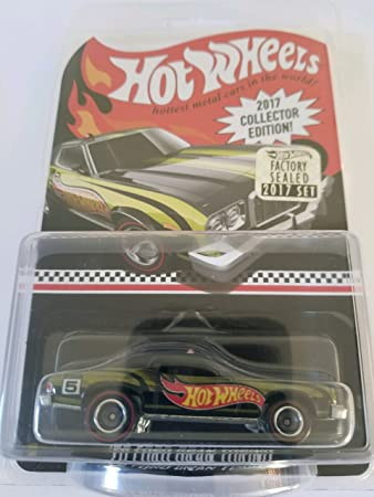 Amazon Com 2017 Hot Wheels Factory Sealed Set Exclusive Real Riders