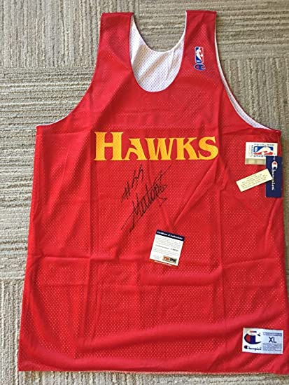 promo code d3743 3a8d4 Dikembe Mutombo Autographed Jersey - Practice Champion - PSA ...