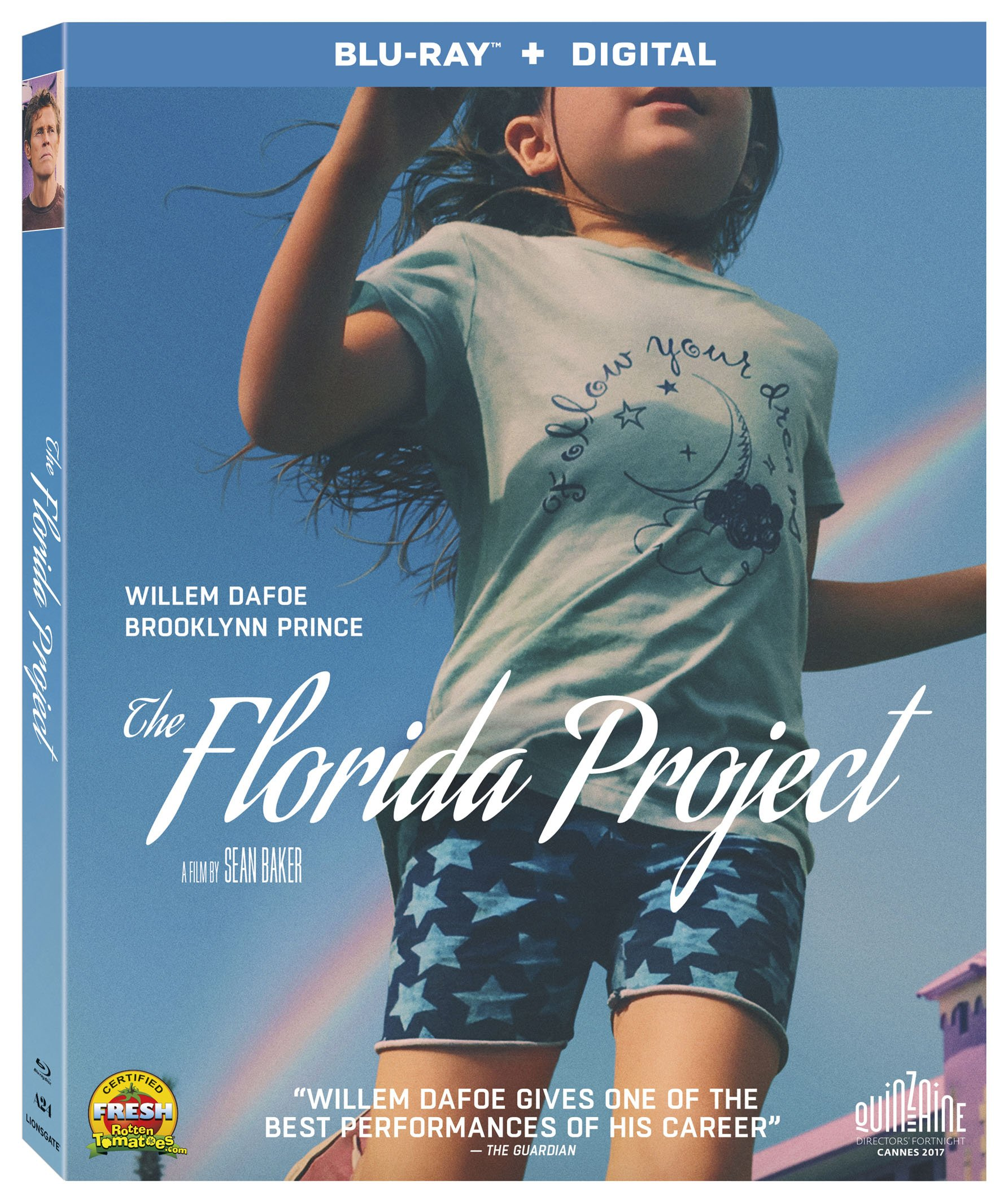 Blu-ray : The Florida Project (Widescreen, Subtitled, AC-3, Digital Theater System)