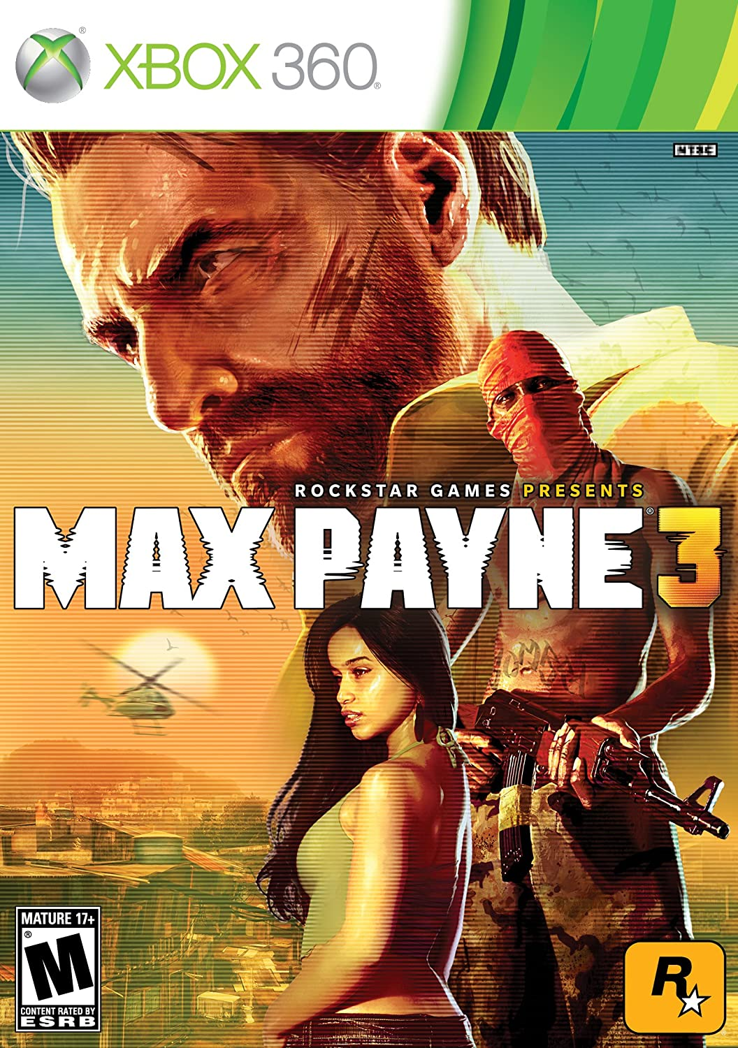 Amazon Com Max Payne 3 Xbox 360 Take 2 Interactive Video Games