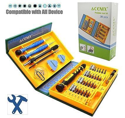 ACENIX® Nuevo juego de herramientas profesionales para iPhone 5S 5 C 5 4S 4 iPad Air iPad 4 3 2 Mini iPods Samsung Galaxy S4 S3 S2 Note 1 Note 2 Note ...