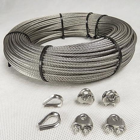 Juego pinzas de acero Cuerda Acero inoxidable arco de 6 mm ...