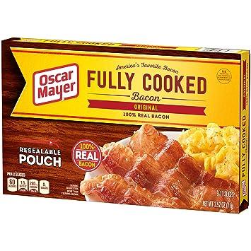 Oscar Mayer Original Fully Cooked Bacon (2 52 oz Package)