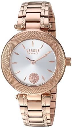 e58c6b37be3a Versus by Versace Women s Brick Lane Combo Box Quartz Watch with Strap
