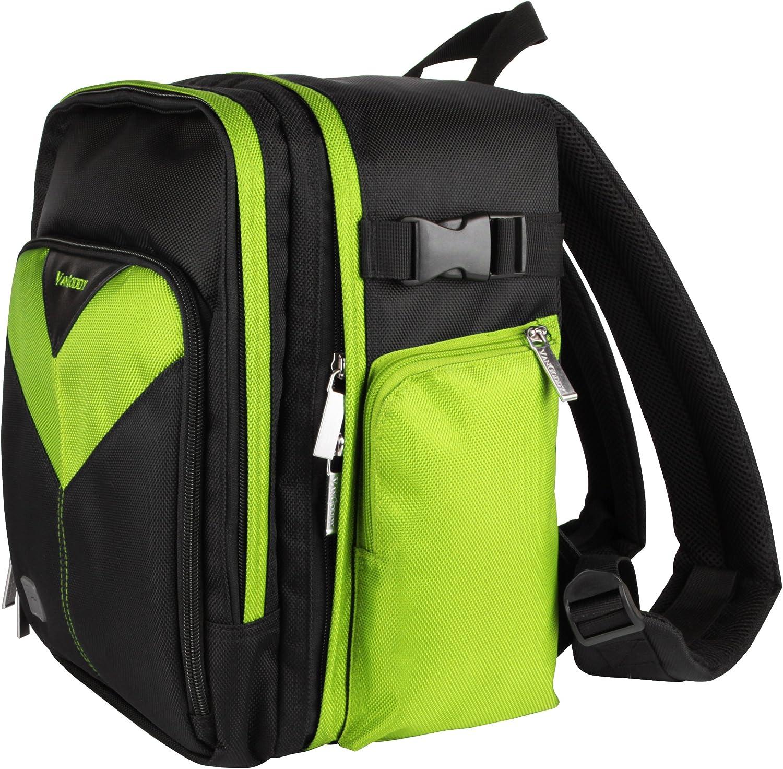 Nikon 1 J4 Green Sparta Collection SLR Camera Backpack