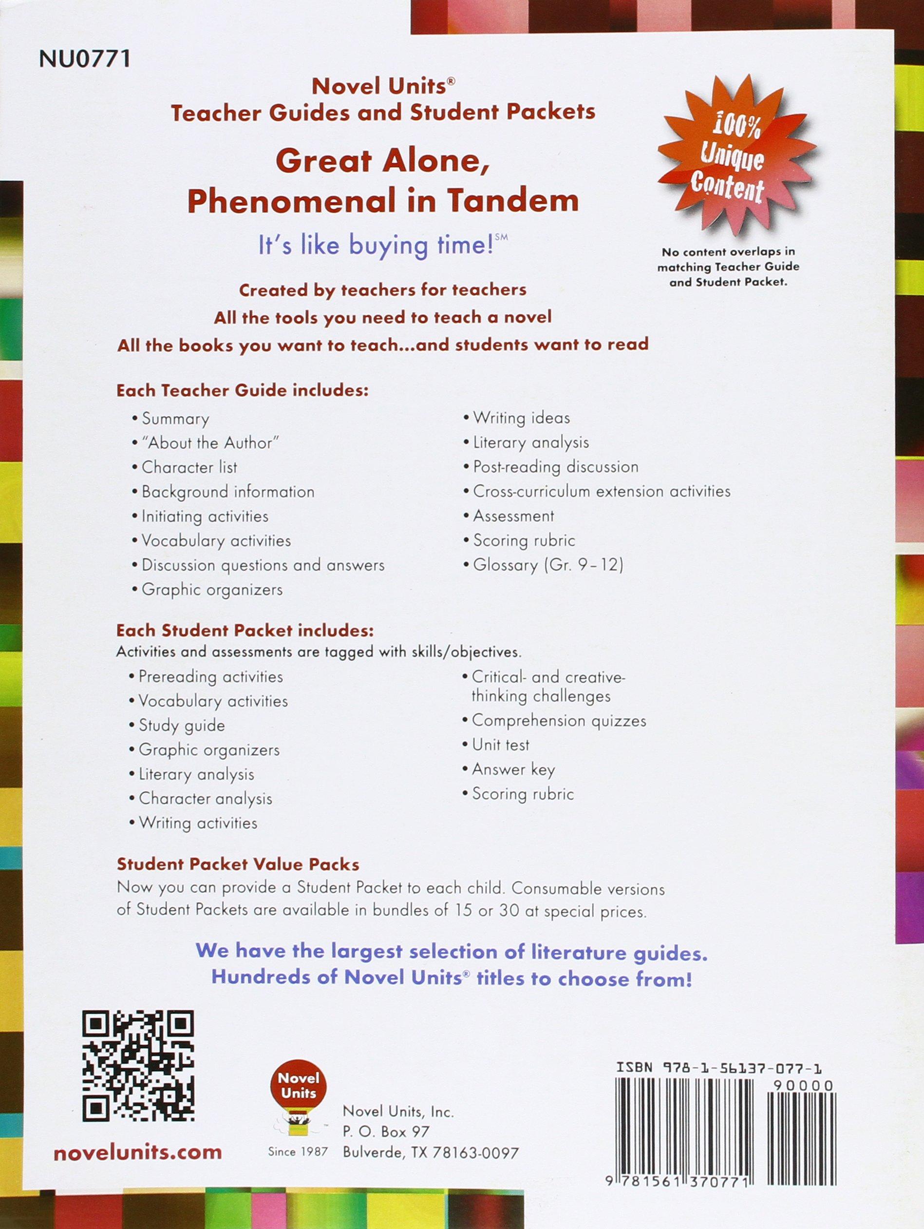 Seedfolks Teacher Guide By Novel Units Novel Units 9781561370771