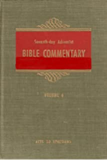 The seventh day adventist bible commentary volume 1 genesis to seventh day adventist bible commentary vol 6 acts ephesians fandeluxe Gallery