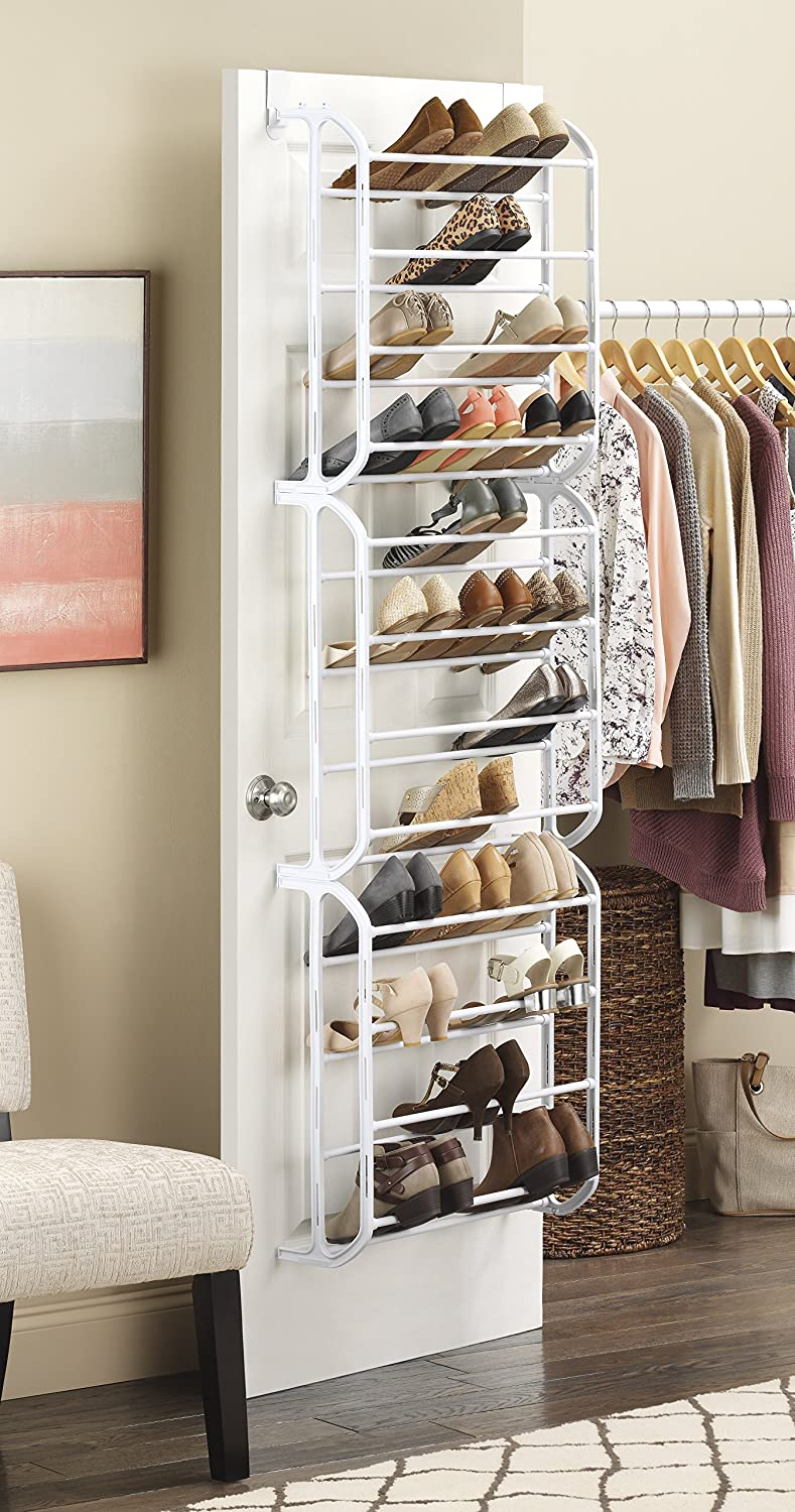 door shoe walmart ip over closet com doors with whitmor the organizer peva