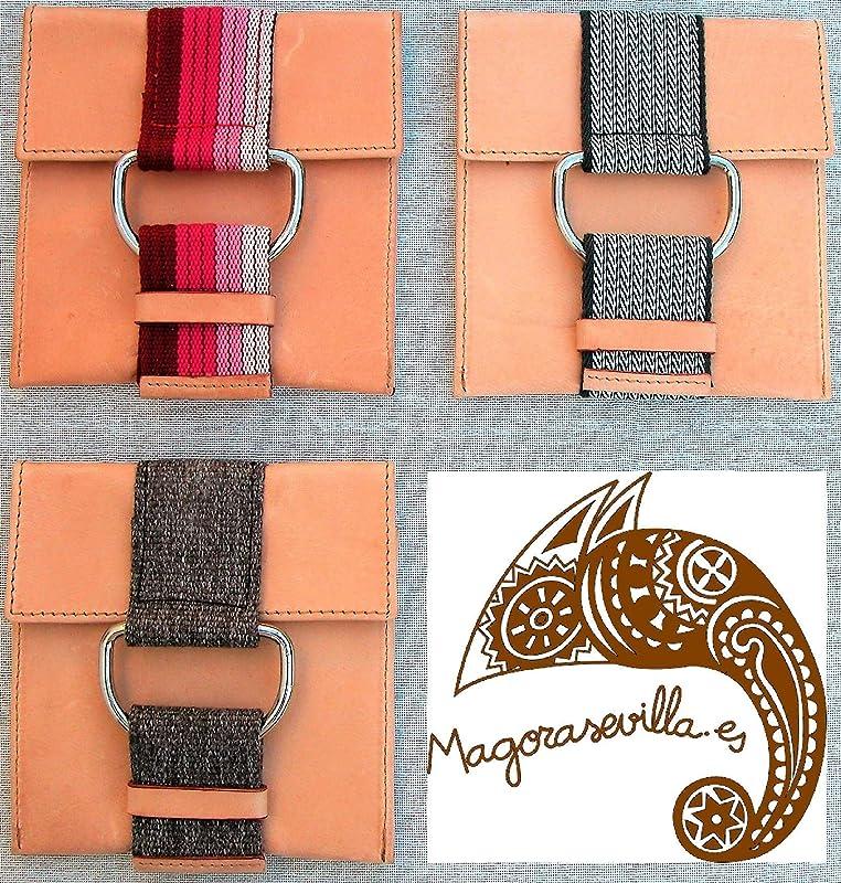 1 und Soporte cargador móvil, Phone Hanger, Piel + Cinta.: Amazon ...