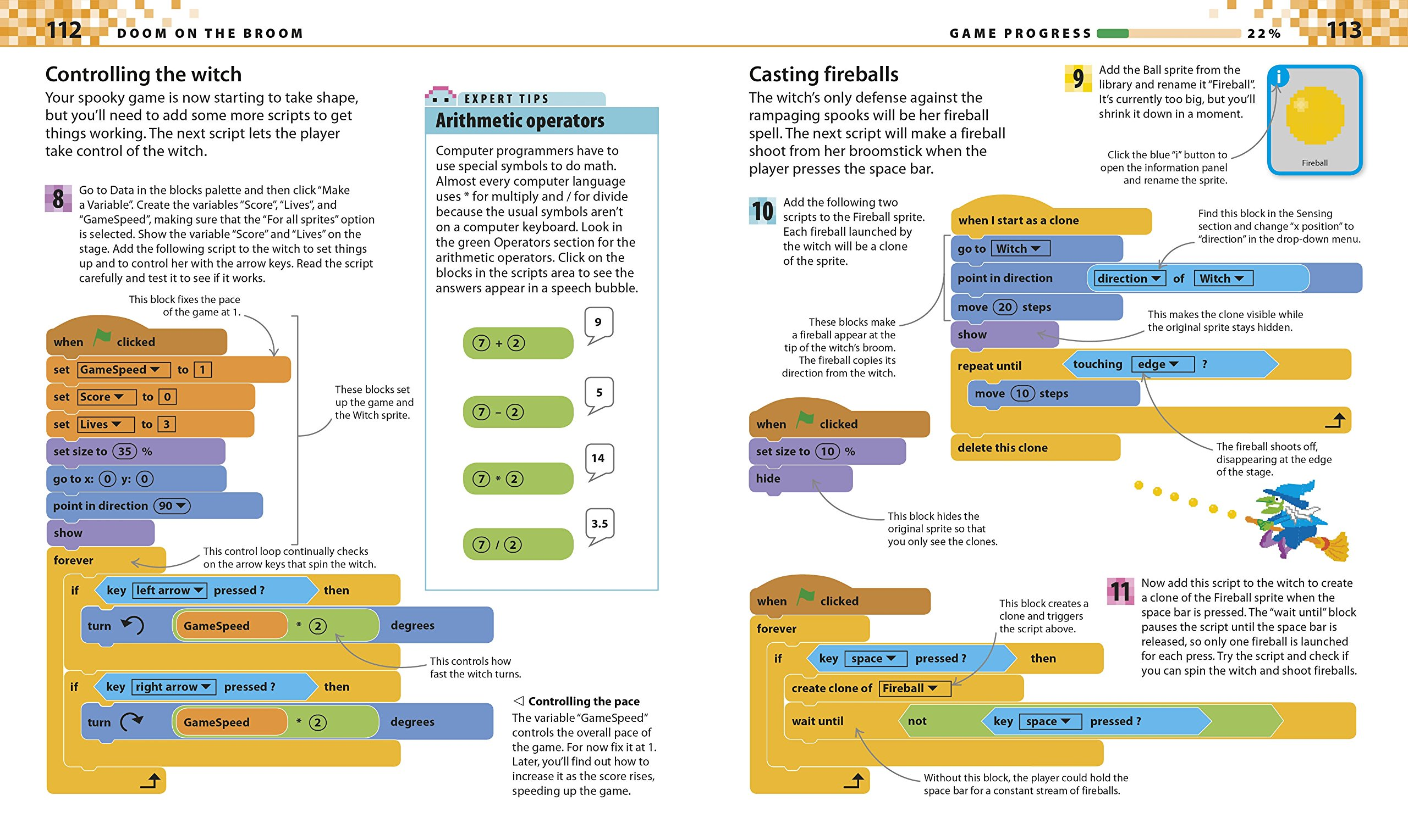 Coding Games in Scratch by DK Publishing (Image #5)