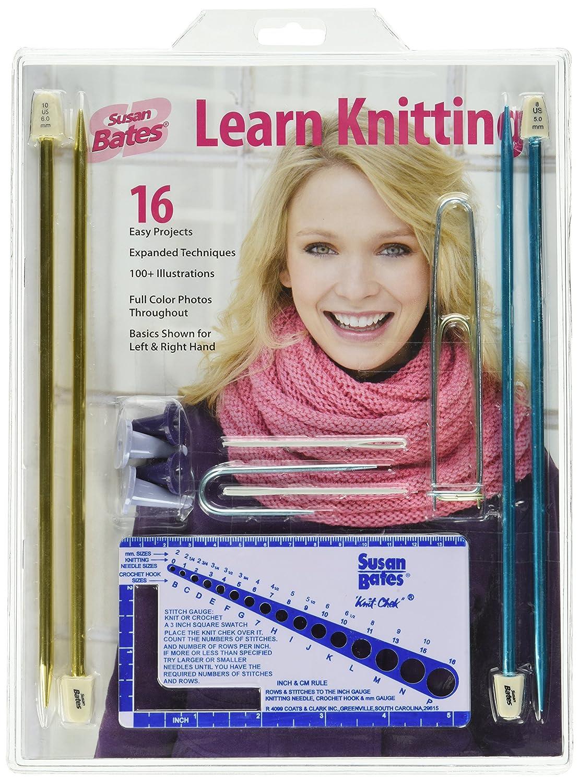 Learning K17380.001 Knitting Teacher Kit Coats & Clark