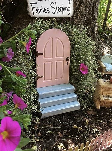 Beau Pink Fairy Door, Garden Decor, Fairy Garden, Gifts For Her, Birthday,