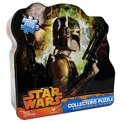 Star Wars Classic-Boba Fett Puzzle (1000 Piece): Toys & Games