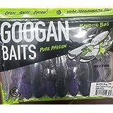 "Googan Baits GBB-GPU Bandito Bug 4"", Green Pumpkin Purple, Multi, one Size"