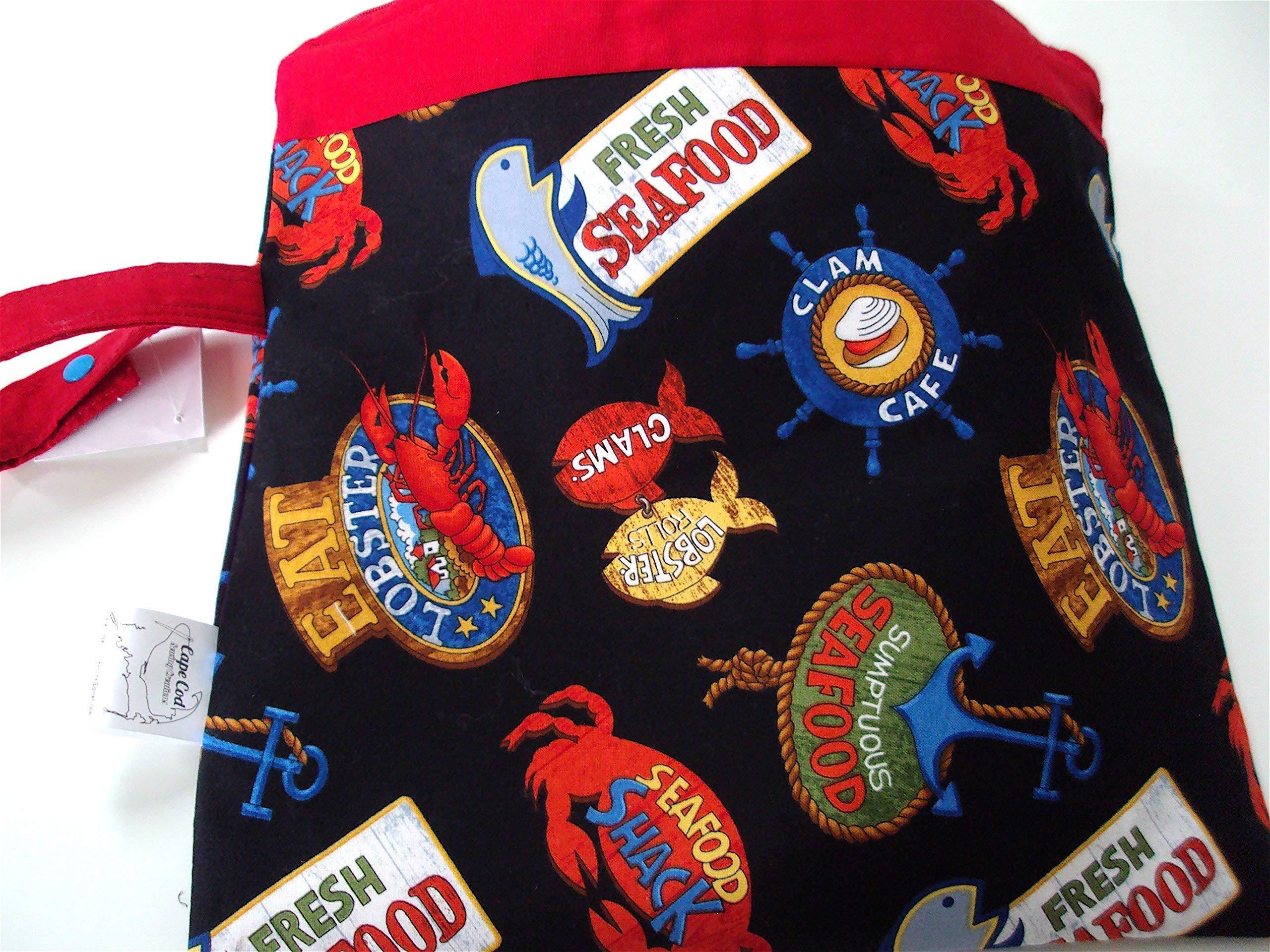Waterproof Wet Zipper Beach Swimsuit Bag