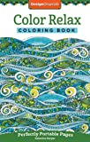 Color Relax Coloring Book: Perfectly Portable Pages (On-the-Go Coloring Book) (Design Originals) Extra-Thick High…