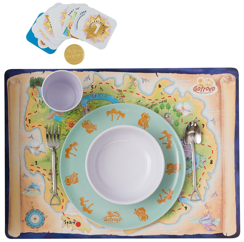 Gotrovo - Ensemble de vaisselle/Jeu pour les mangeurs ...