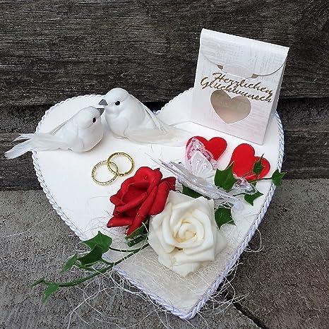 Der Kleine Dekoladen Geldgeschenk Verpackung Hochzeit Flitterwochen Hochzeitsgeschenk Geld Verschenken Amazon De Kuche Haushalt