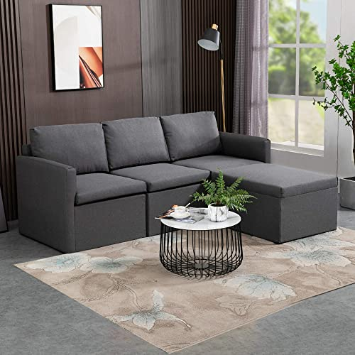 Editors' Choice: MU L-Shaped Reversible Sectional Sofa Couch