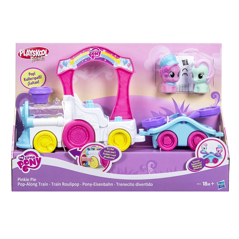 My Little Pony Playskool Friends Pinkie Pie Pop-Along Train: Amazon.es: Juguetes y juegos