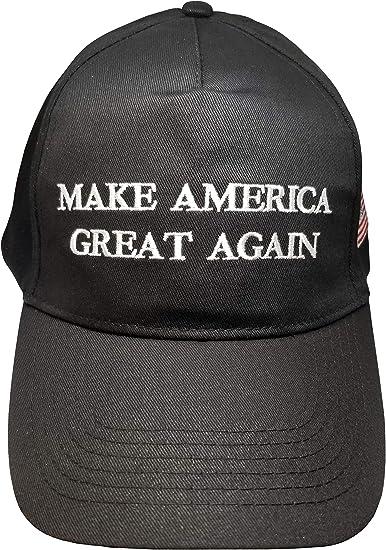 Make America Great Again Hat 2020 Donald Trump Campaign Republican Black Cap USA