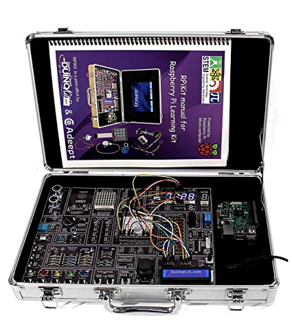 Amazon com: RPiKit - Raspberry Pi Learning Kit (No Tablet Included