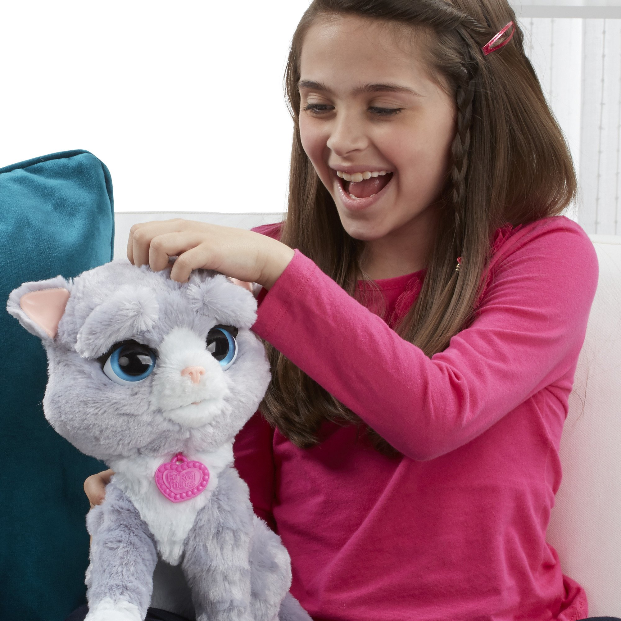 FurReal B5936AF1 Bootsie Interactive Plush Kitty Toy, Ages 4 & Up by FurReal (Image #8)