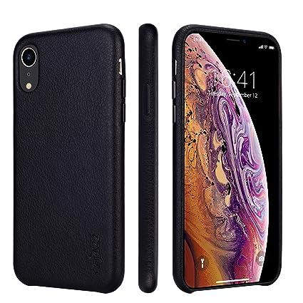 Amazon.com: Rejazz - Funda de piel para iPhone xr de 6,1 ...