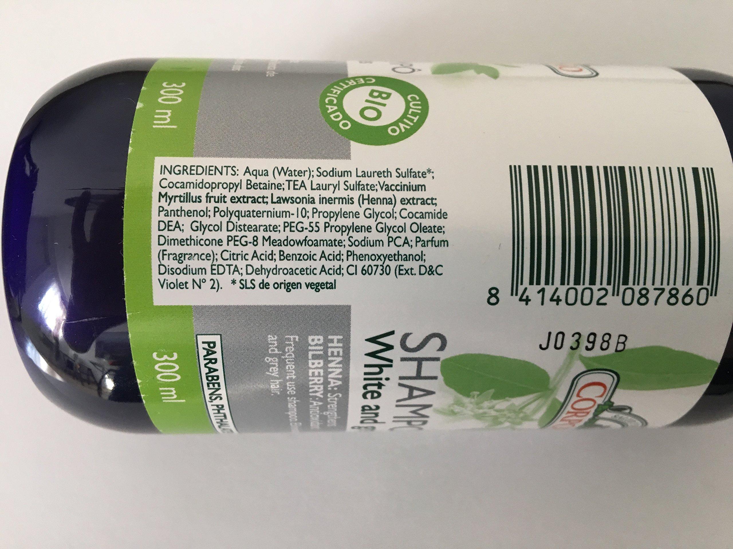 Corpore Sano Silver Henna Shampoo. Bio Organic. 10.1 Fl.oz