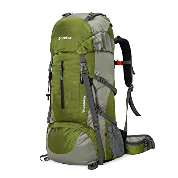 827ea0e84c63 Suretex 50L-60L Waterproof Outdoor Sport Hiking Trekking Camping Travel  Backpack Pack Mountaineering Climbing Knapsack